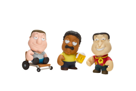 Cleveland Family Guy Toys : Kidrobot family guy 'mini figures leic is more